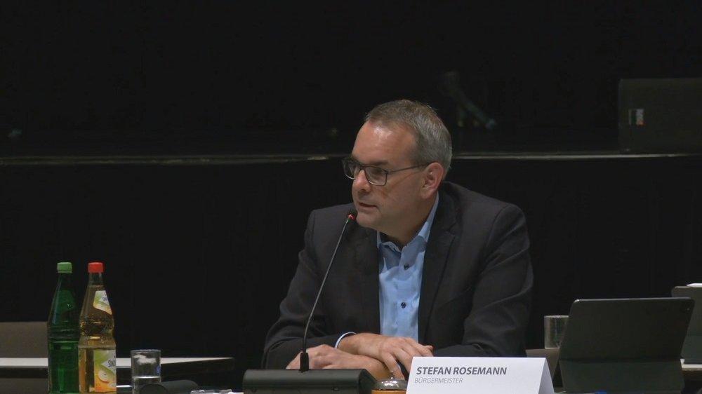 Bürgermeister Stefan Rosemann