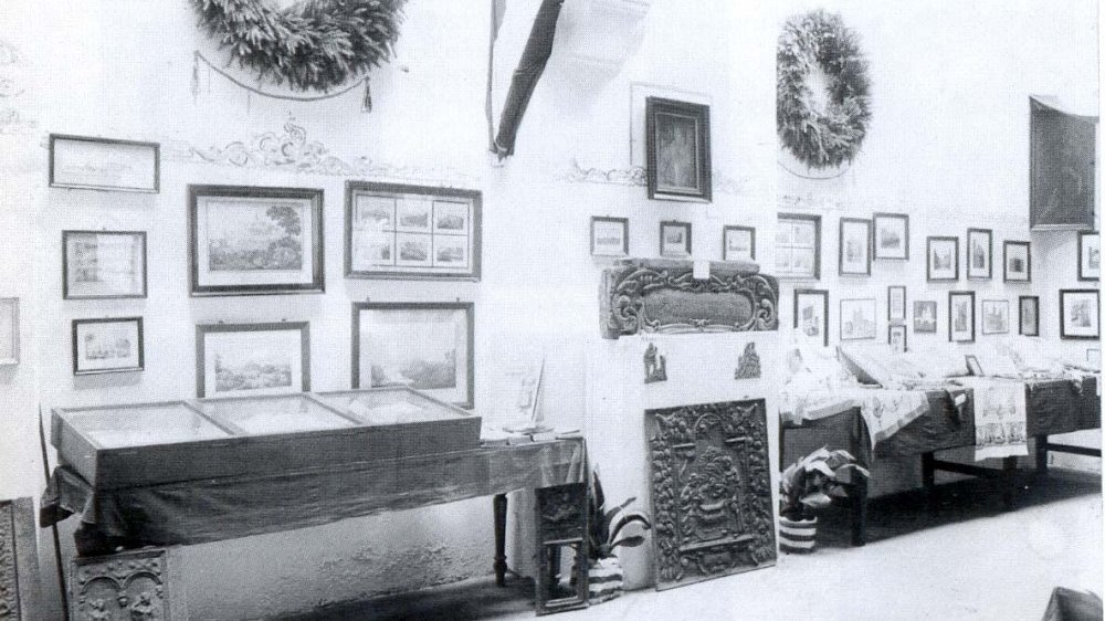 Abtei Innenraum