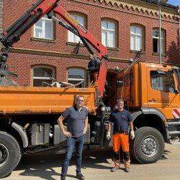 Aufräumarbeiten in Rheinbach und Swisttal