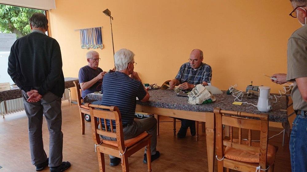 Repair Café Siegburg Zange