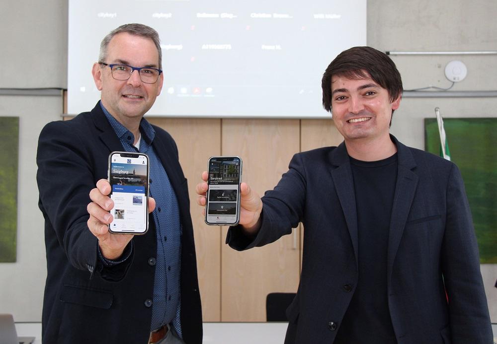 Siegburg fürs Smartphone
