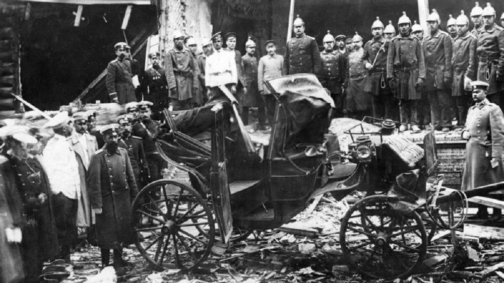Attentat auf Stolypin
