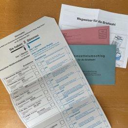 Am Sonntag ist Bundestagswahl