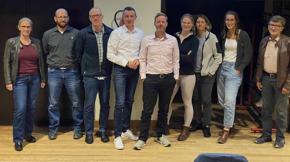 Sonja Haas, Dennis Preißner, Arno Pohl, Oliver Schmidt, Stefan Schnippering, Talita Neff, Corinna Rosenberg, Johanna Hansen und Christian Uzunoff.