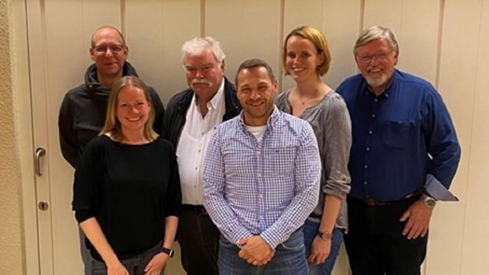 Eric Eisenbach, Christina Schmidt, Konrad Strecke, Michael Nuss, Katharina Przibilla und Werner Herkenrath