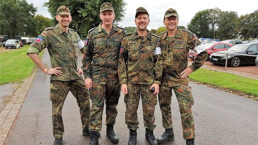 Siegburger Reservisten-Mannschaft beim Internationalen Militärwettkampf