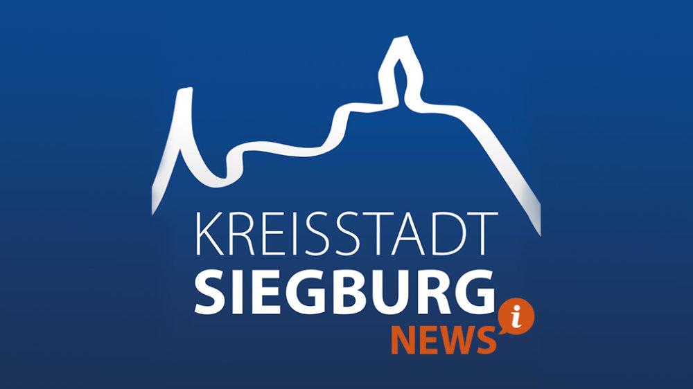 Auf dem Bild sieht man das Siegburg-Logo mit der Bezeichnung News
